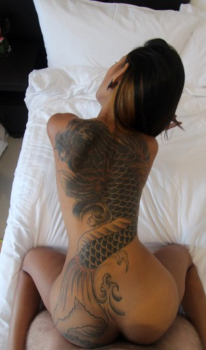 Tattooed Asian Pics